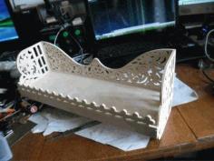 Laser Cut Decorative Rack Or Shelf Template Free CDR Vectors Art