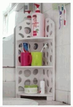 Laser Cut Rack Shelf For Bathroom Free CDR Vectors Art