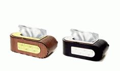 Laser Cut Tissue Box Cover Template Free CDR Vectors Art