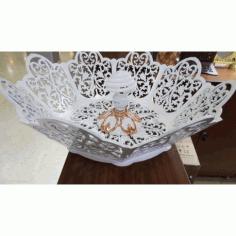 Laser Cut Decorative Lamp Shade Template Free CDR Vectors Art
