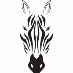 Zebra Head Vector Free CDR Vectors Art