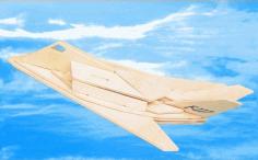 f-117 Aircraft Laser Cut Free PDF File