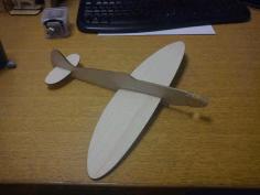 Balsa Spitfire Glider 2 6mm Free PDF File