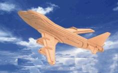 Boeing 3d Puzzle Free PDF File