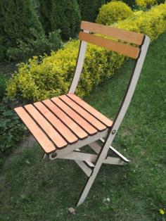 Laser Cut Modern Folding Chair Free CDR Vectors Art