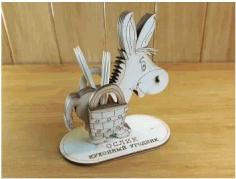 Laser Cut Stand Toothpick Free CDR Vectors Art