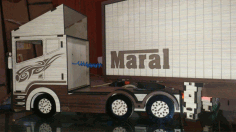 Kids Toy Truck Scania r580 Free CDR Vectors Art