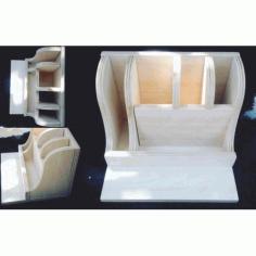Laser Cut Organizer Template Free CDR Vectors Art