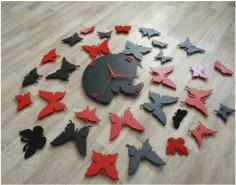 Laser Cut Butterfly Watch Cnc Cutting Free CDR Vectors Art