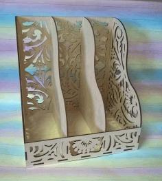 Laser Cut Decorative Organizer Layout Free CDR Vectors Art