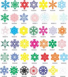 New Year Decorations Free CDR Vectors Art