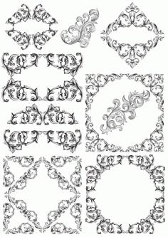 Vectors Barocco Decor Free CDR Vectors Art