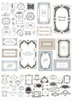 Vectors Decorative Elements Free CDR Vectors Art
