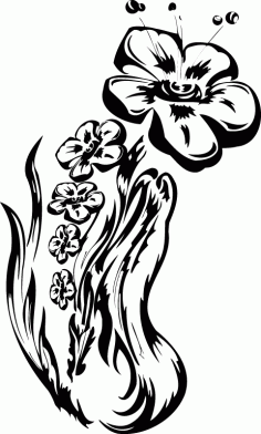 Flowers Vector Graphic Free AI File