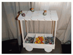 Candy Cart Laser Cut Plans Free PDF File