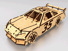 Laser Cut Nascar Toy Race Car Model Free PDF File