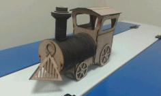 Locomotive Laser Cut Plans Free PDF File