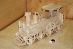 Lokomotive Laser Cut Free PDF File