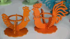 Laser Cutting Project Chicken Egg Holder Vectors Free CDR Vectors Art