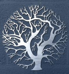 Laser Cut Tree Wall Art Tree Of Life Vector Free CDR Vectors Art