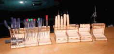 Laser Cut A Set Of Organizers For Tools Material 3 Mm Free CDR Vectors Art