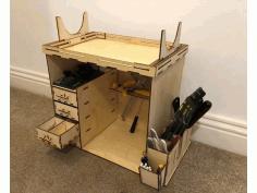 Laser Cut Tool Set Organizer Free CDR Vectors Art