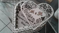 Laser Cut Heart Layout Free CDR Vectors Art