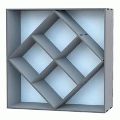 Cabinet Storage Rack Laser Cut Free DXF File