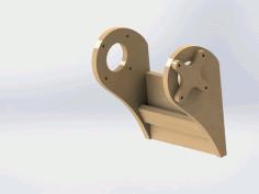 Laser Cut Sandpaper Holder Drawing Free DXF File