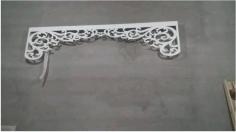 Laser Cut Cnc Decor Pattern 240 X 60 Free DXF File