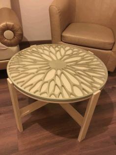 Modern Creative Round Table Free CDR Vectors Art