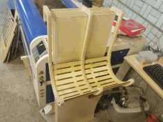 Laser Cut Hanging chair Free CDR Vectors Art