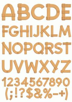 Alphabet 99 Free CDR Vectors Art