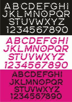 Alphabet 101 Free CDR Vectors Art