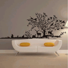 Laser Cut Panel On The Wall Free CDR Vectors Art