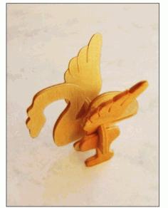 Bird Laser Cut 3d Puzzle Free PDF File