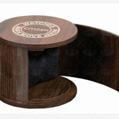 Laser Cut Mini Jewelry Box Layout Free CDR Vectors Art