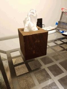 Small Tissue Box Cover Template Free PDF File