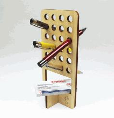 Wooden Pen Holder Free PDF File