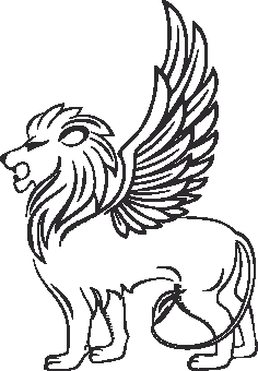 Heraldry Animal Clipart 05 Free DXF File