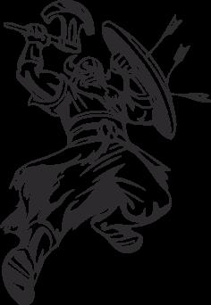 Warriors Vikings Vector 11 Free DXF File