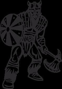 Warriors Vikings Vector 26 Free DXF File