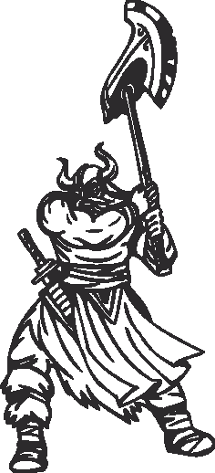 Warriors Vikings Vector 27 Free DXF File