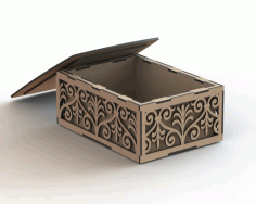Laser Cut Box Pattern 2 Free CDR Vectors Art