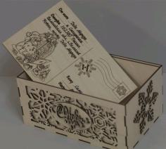 Lasercut Maket Ng Box Free CDR Vectors Art