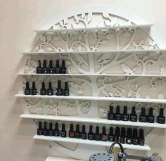 Cosmetic Store Display Shelf Free CDR Vectors Art