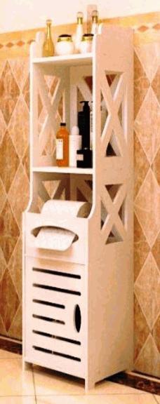 Laser Cut Bathroom Shelf Free CDR Vectors Art