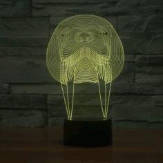 Walrus Animal 3d Lamp Model Free CDR Vectors Art