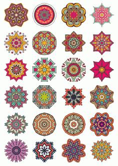 Ornaments 7 Free CDR Vectors Art