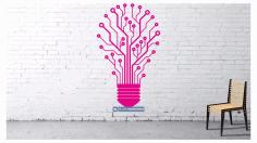 Layout Panel Light Bulb Lamp Free AI File